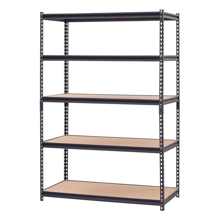 4 Layers Home Kitchen Sturdy Heavy Duty MDF Metal Frame Storage Shelf Rod
