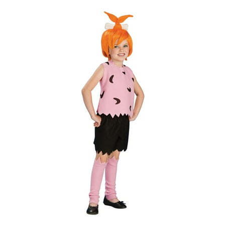 The Flintstones Pebbles Child Costume - Pebbles Costume For Adults