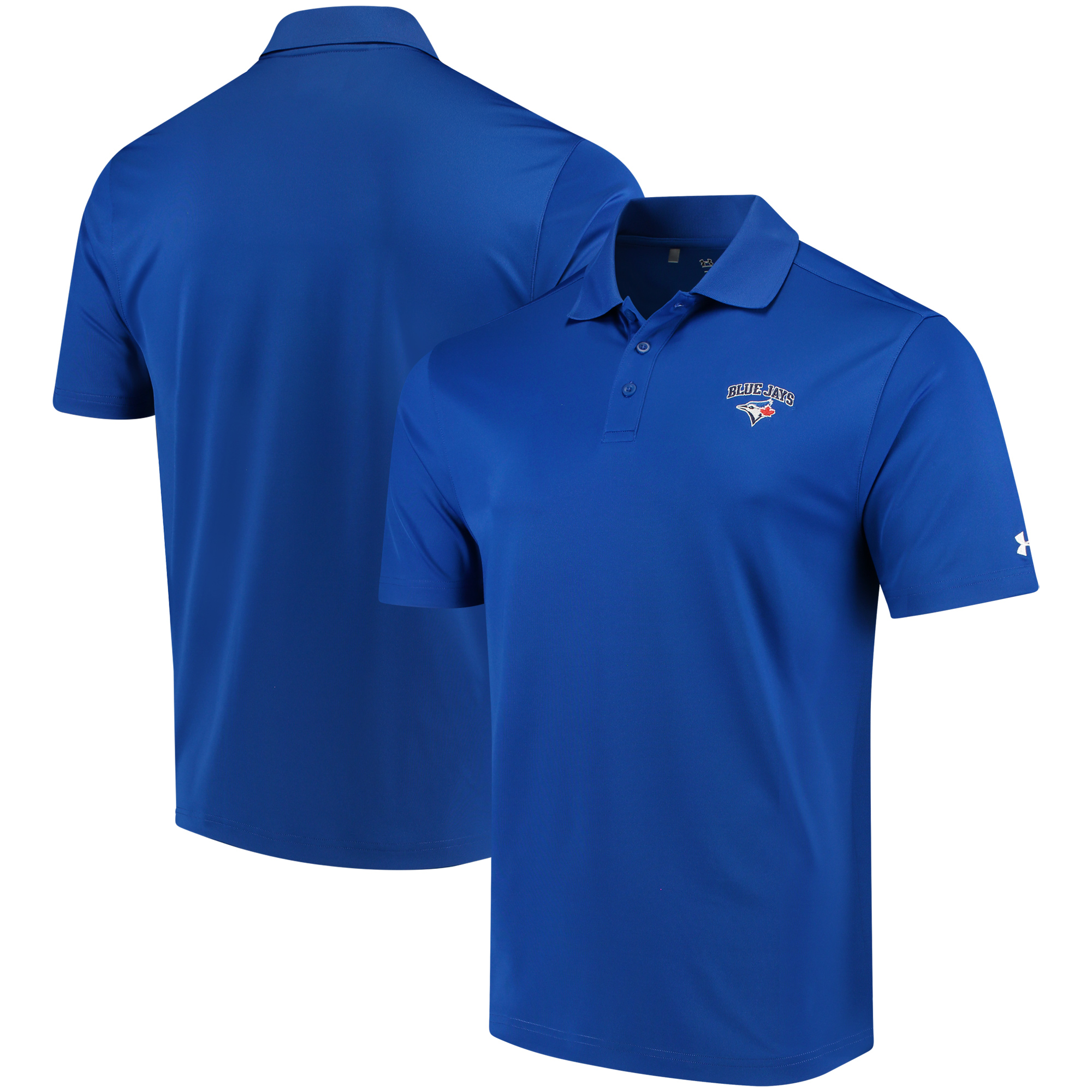 Men's Under Armour Royal Toronto Blue Jays Performance Polo