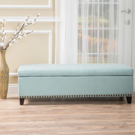 Home Loft Concepts Stipe Storage Bench Entryway Bench - Walmart.com