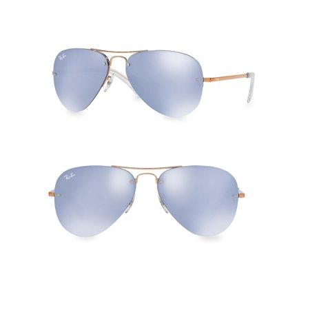 RB3449 59MM Iconic Semi-Rimless Aviator Sunglasses