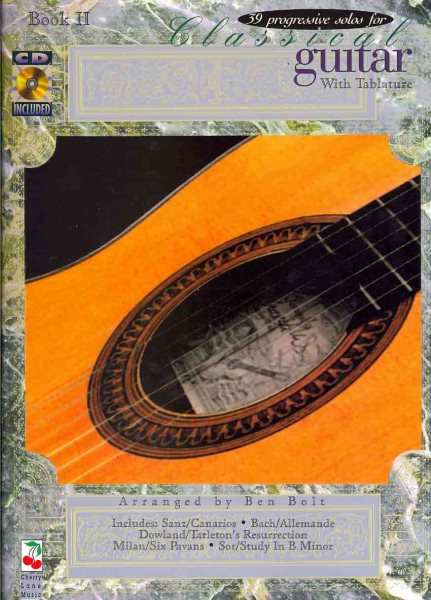 39 Progressive Solos for Classical Guitar, Book II : With Tablature by Cherry Lane Music Company