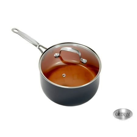 As Seen on TV Gotham Steel Non-stick 3 quart pot with - 3 Quart Stack