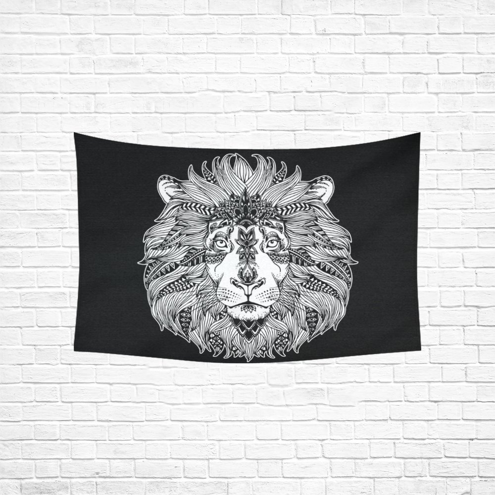 YKCG Home Decoration Lion Wall Hanging Tapestry 60 x 40 Inches