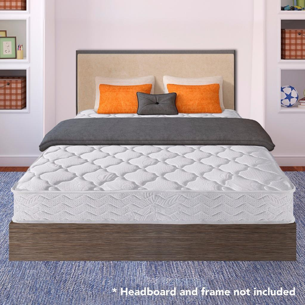 Best Price Mattress 8 Inch Contour Support Pocketed Coil Spring Mattress, Multiple Sizes