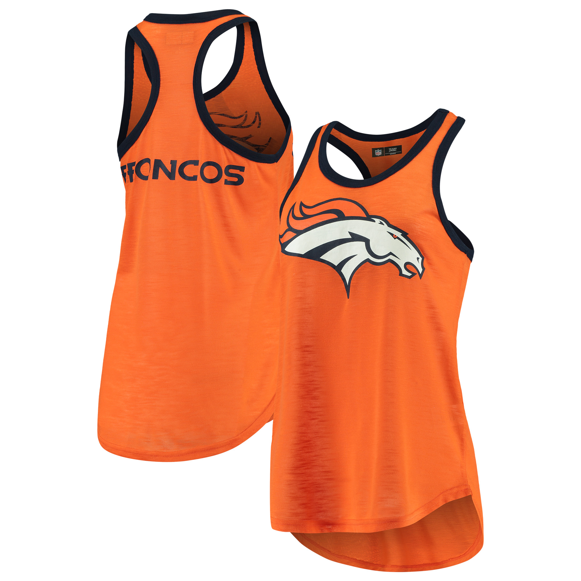 Denver Broncos G-III 4Her by Carl Banks Women's Tater Tank Top - Orange