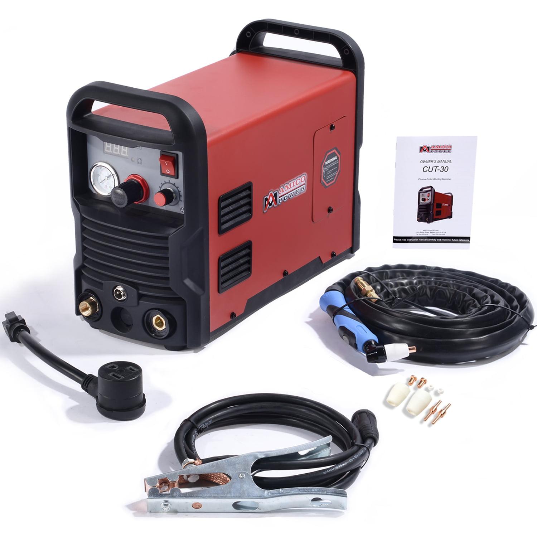 CUT-30 30 Amp Plasma Cutter DC Inverter 110/230V Dual Voltage Cutting Machine New