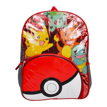 Kids Pokemon Pokeball Backpack 16