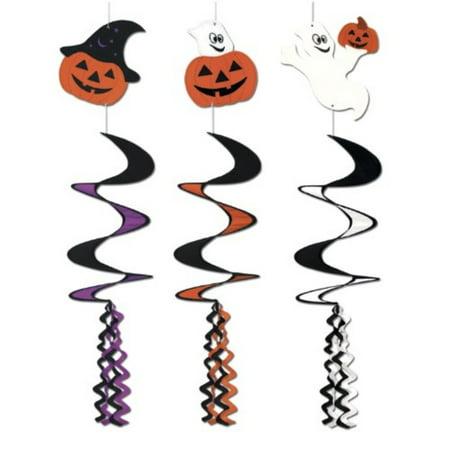 Halloween Wind-Spinners (asstd designs) Party Accessory (1 count) (1/Pkg) - Halloween Pinwheels Appetizers