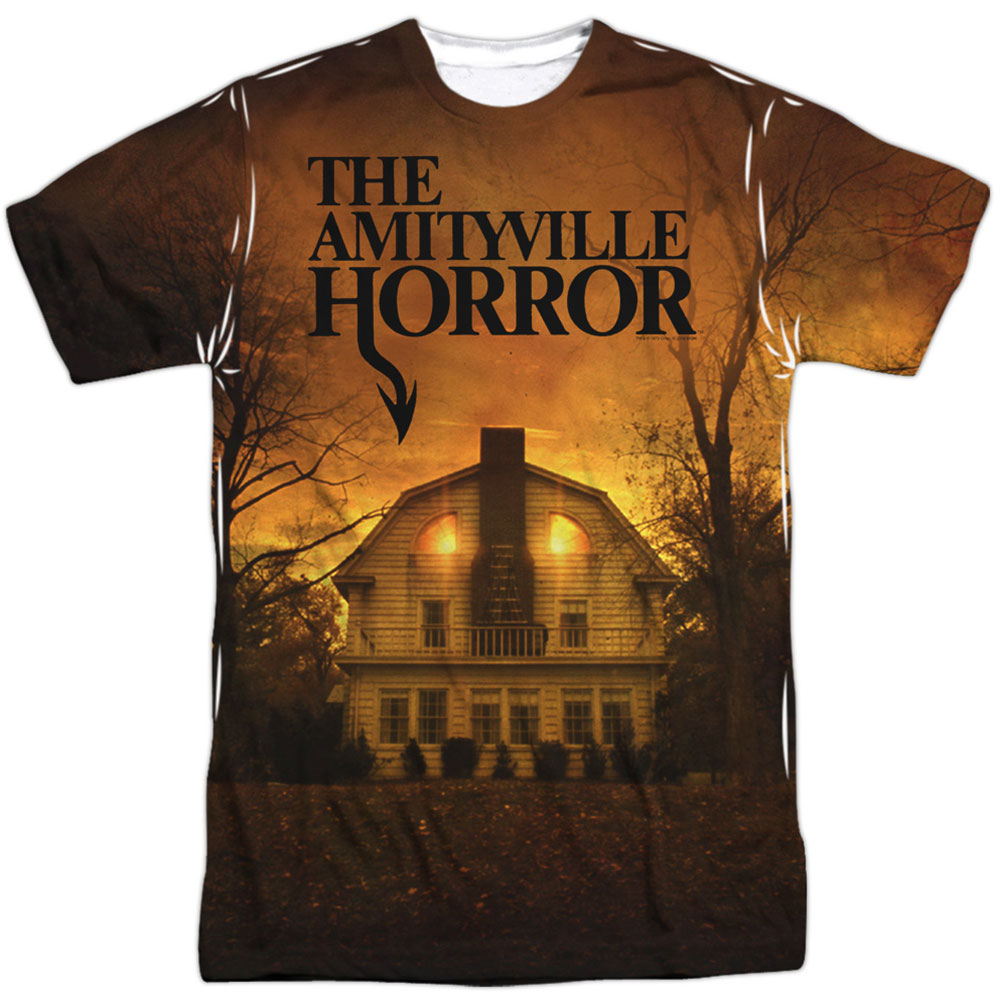 Amityville Horror Men's  House Sublimation T-shirt White