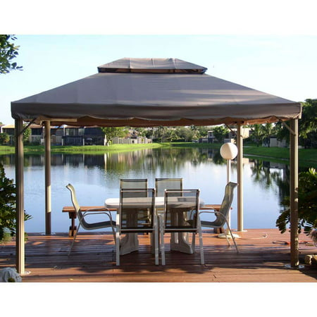 Garden Winds Replacement Canopy Top and Side Mosquito Netting Set for BJs