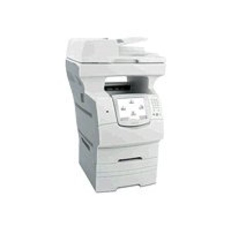 3100 Laser - Lexmark X - Multifunction printer - B/W - laser - Legal (8.5 in x 14 in) (original) - Legal (media) - up to 50 ppm (copying) - up to 50 ppm (printing) - 1100 sheets - 33.6 Kbps - USB, LAN