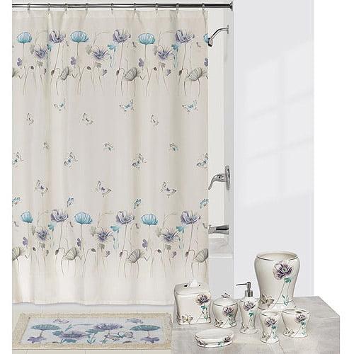 Creative Bath Garden Gate Shower Curtain, Lilac