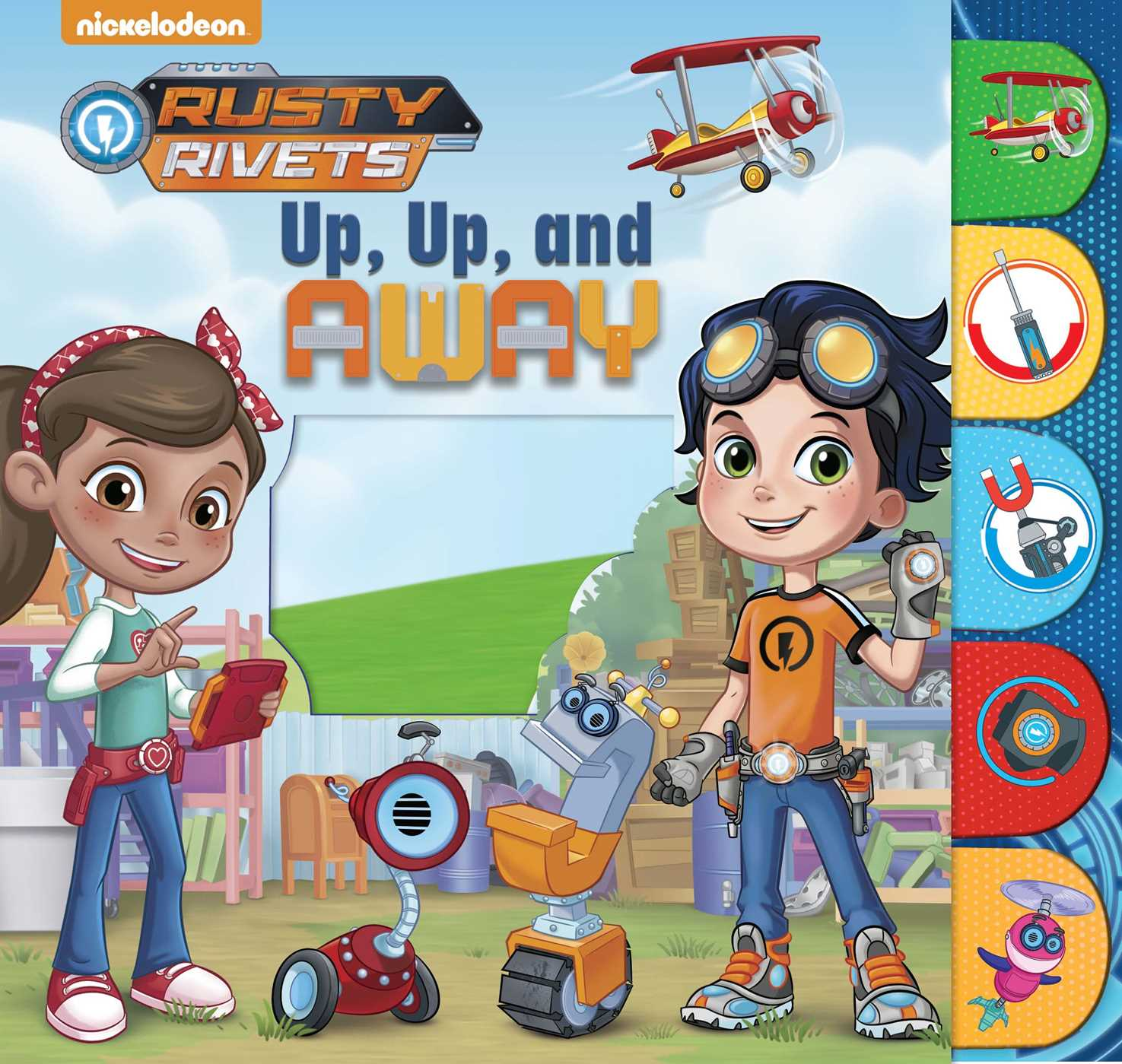 Rusty Rivets: Up, Up, and Away! (Board Book)