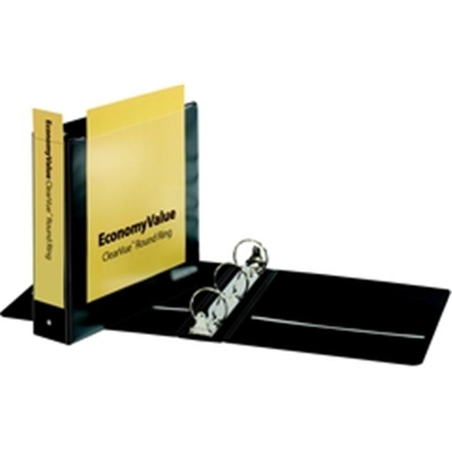 Cardinal EconomyValue ClearVue Round Ring Binder 2 in w o Packaging