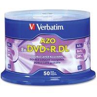 Verbatim, VER97000, DVD+R Double Layer Media, 50