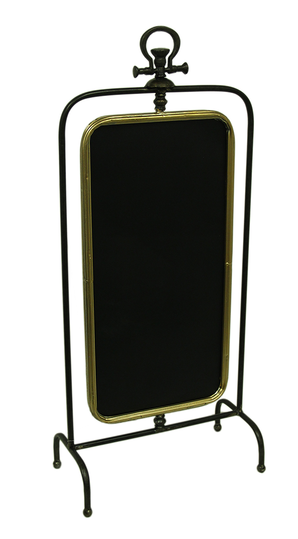 Double Sided Rotating Framed Standing Chalkboard 35 Inch by UPPER DECK, LTD