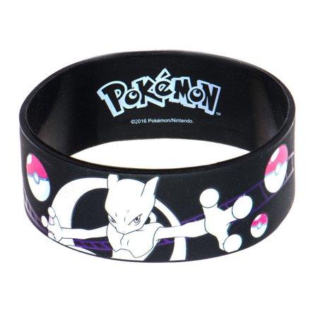 Pokemon Mewtwo Youth Silicone Wristband