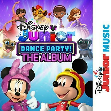 Disney Junior Music Dance Party (Various Artists) (CD) - Classic Halloween Party Music