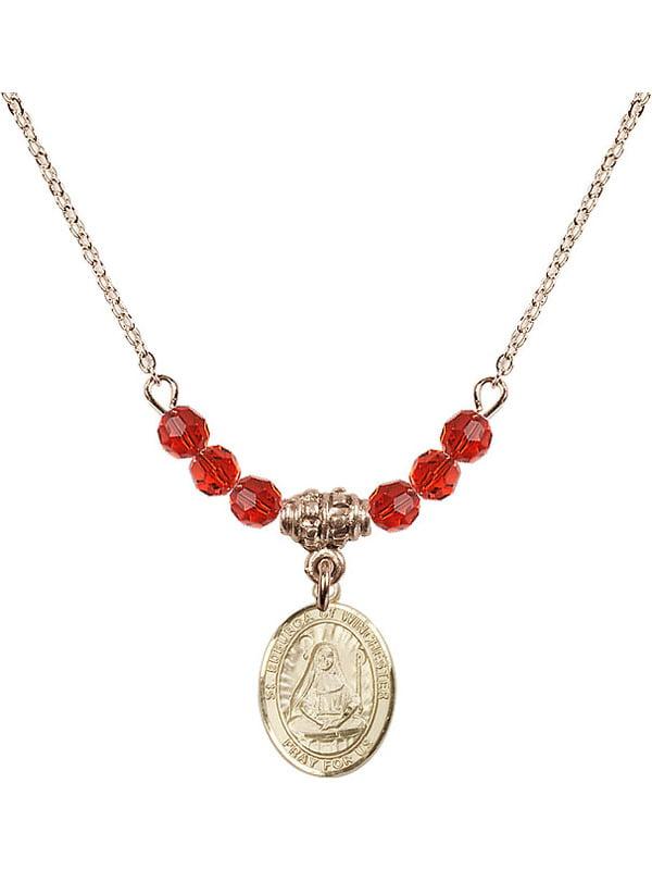 Edburga of Winchester Pendant Gold Filled St Pendants