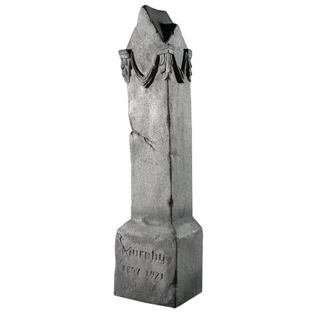 Tipping Tombstone Frightronic Halloween Decoration - Homemade Tombstones For Halloween
