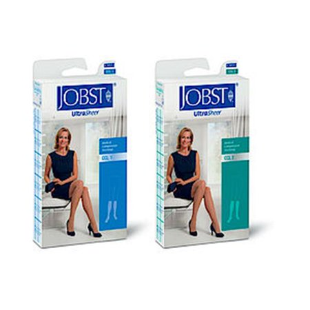 BSNMedical 7768801 Jobst Ultrasheer Sensitive Thigh 30-40 Closed Toe Lace, Classic Black, Medium - image 2 of 2