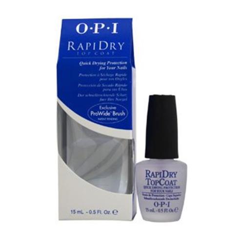 OPI  Rapidry Top Coat Nail Polish, 0.5 oz (Pack of 3)