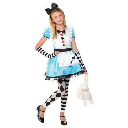 Baby Alice In Wonderland Dress (Alice Child Costume - Medium)