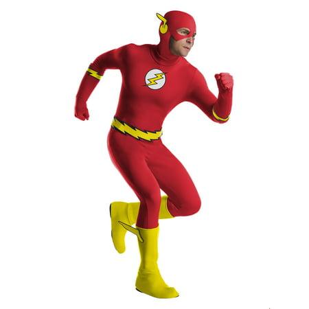 Mens Flash Halloween Costume (Flash Costume Men)