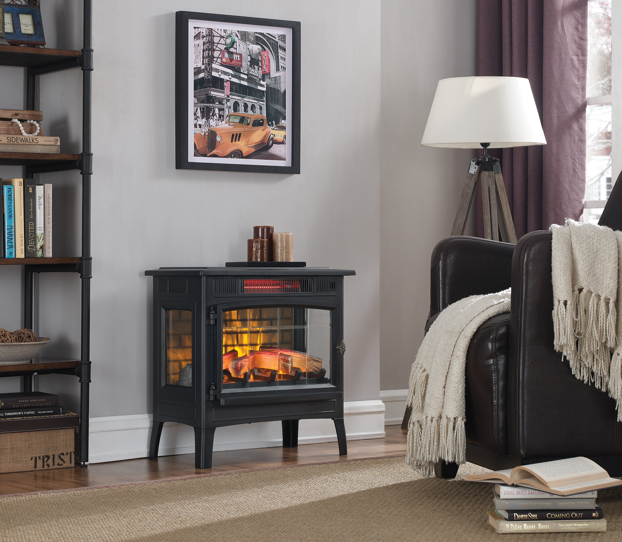 Duraflame 3D Electric Fireplace Stove Review