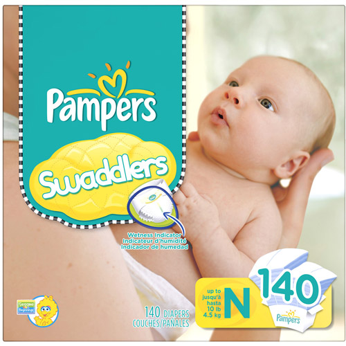 Pampers Swaddlers Diapers, 140 count
