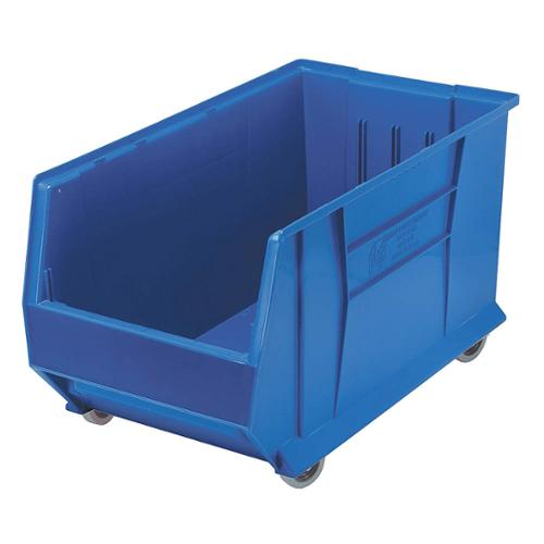 QUANTUM STORAGE SYSTEMS Mobile Bin, 29-7/8 In. L, 16-1/2 In. W QUS986MOBBL