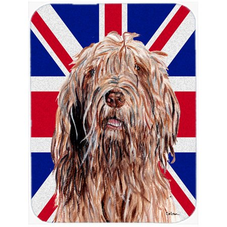 Otterhound with English Union Jack British Flag Mouse Pad, Hot Pad or Trivet SC9878MP
