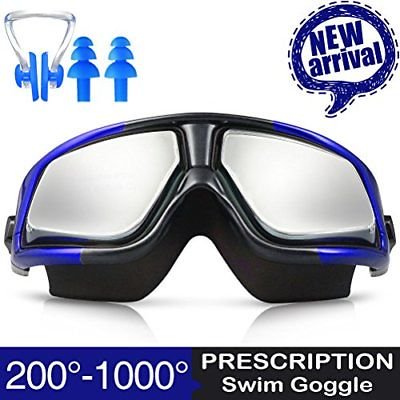 2bfa270ed1 RX Prescription Swim Goggles ZIONOR G3 Optical Corrective Swimming  Leakproof UV