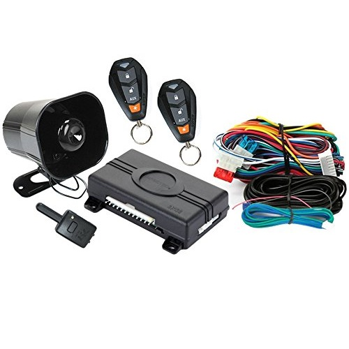 Viper 350 PLUS 3105V Entry Level 1-Way Car Security System Alarm Keyless Entry