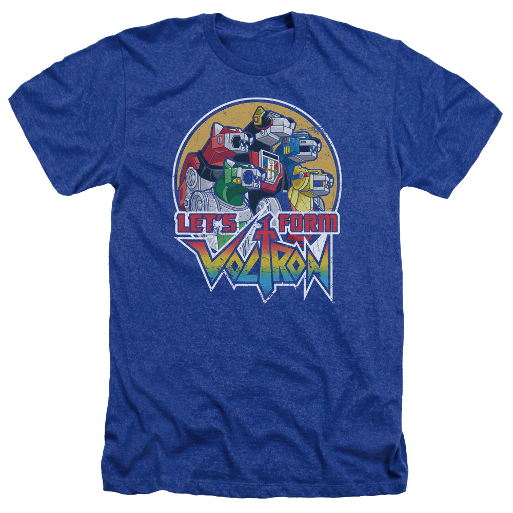 Voltron Let's Form Mens Heather Shirt