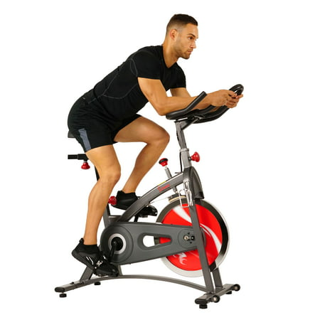 Sunny Health & Fitness SF-B1423 Indoor Exercise Cycle, Belt Drive