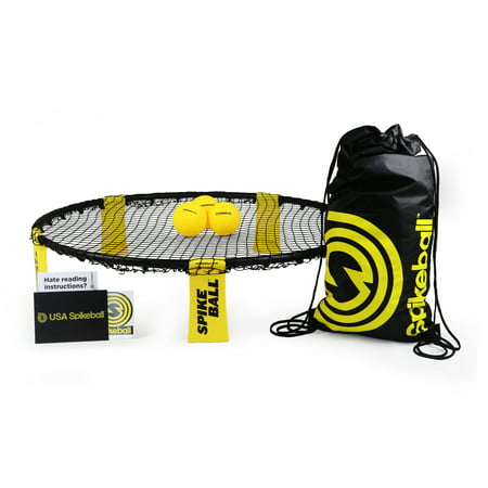 Gaui Ball - Spikeball 3 Ball Set. Includes playing net, 3 balls, drawstring bag and rule book