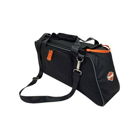 Harley-Davidson Saddlebag Utility Tote Cooler, Bar & Shield Logo, Black 439-02, Harley (Harley Davidson Police Saddlebag Locks & Hardware)