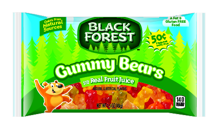 Black Forest Gummy Bears Candy, 1.5 Ounce Bag, Pack of 24 by FERRARA CANDY COMPANY