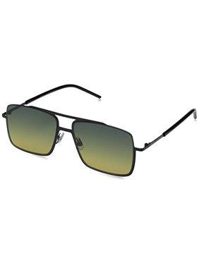 Marc Jacobs Men's MARC 35/S Black/Green Yellow Sunglasses