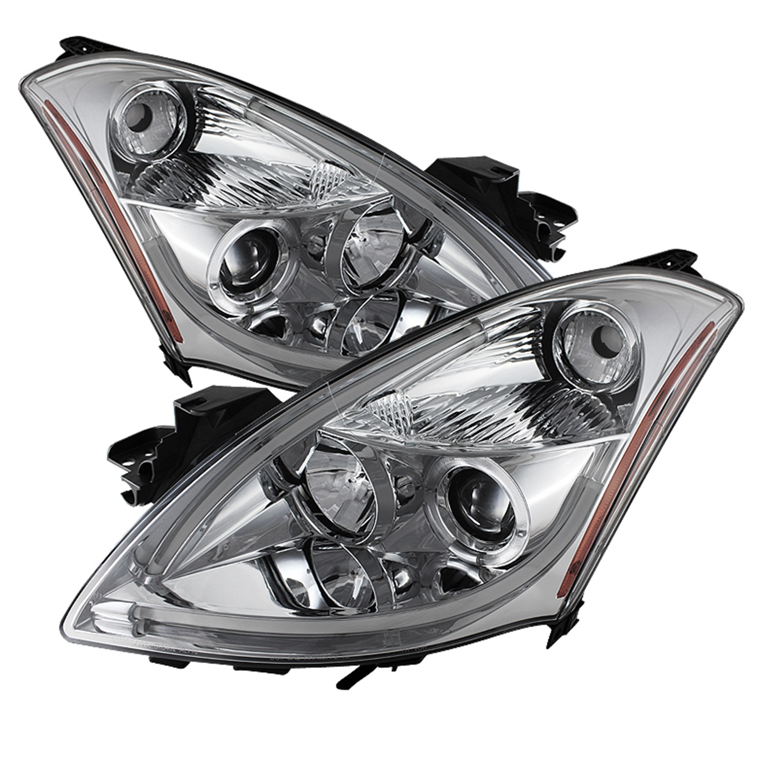 Spyder Auto 5076847 Halo DRL LED Projector Headlight Fits 10-12 Altima