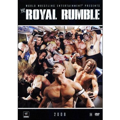 Warner Brothers Wwe Royal Rumble 2008 Dvd Std Ff