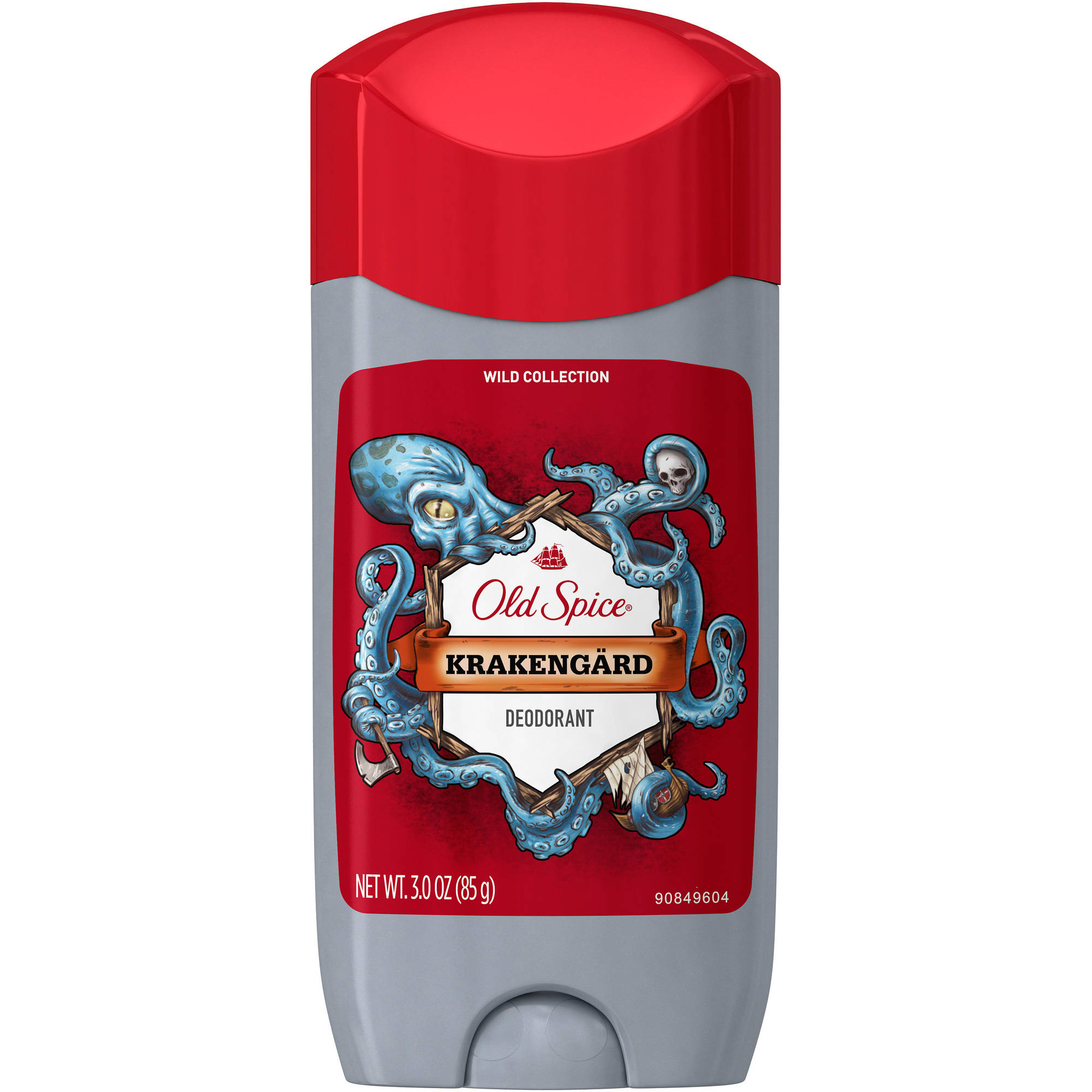 Old Spice Wild Krakengärd Scent Deodorant for Men, 3 oz