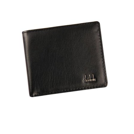 Men Bifold Business Leather Wallet ID Credit Card Holder Purse Pockets (Mens Business Card)