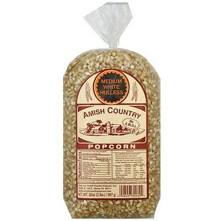 Amish Country Popcorn Medium White Popcorn  32 Oz  Pack Of 8
