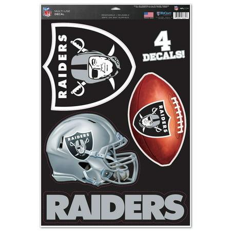 Raiders Die Cut Decal (Oakland Raiders WinCraft #1 Fan 11