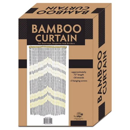 All Fun Gifts Bamboo Beaded Door Curtain -3ftx6ft Arrow Head (Custom Beaded Door Curtains)
