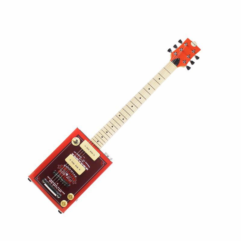"Bohemian ""Hot Sauce"" Hollow Body Oil Can Electric Guitar 3 x Single Coil by Bohemian Guitars"