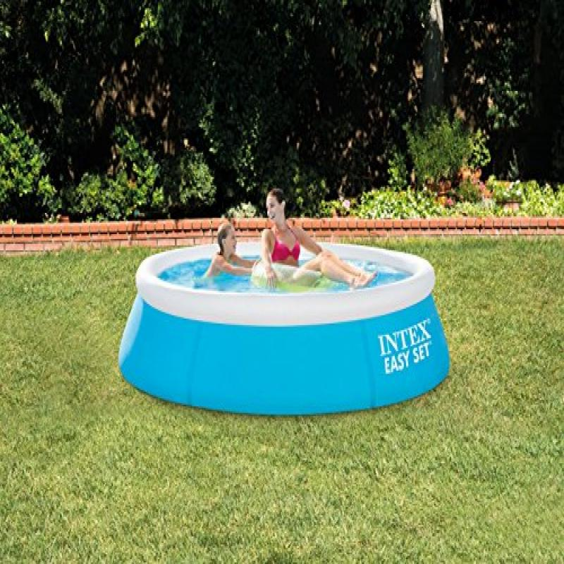 "INTEX Easy Set Inflatable Swimming Pool 6' x 20"" for Ages 3+"